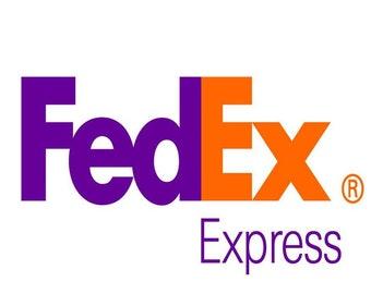 FedEx shipping option.