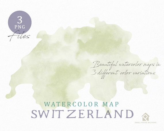Sweden Map, Watercolor Map, Instant Download, Digital Map, Map Clipart, Wall Art, Color Map Clip Art, Custom Map, Watercolor Map