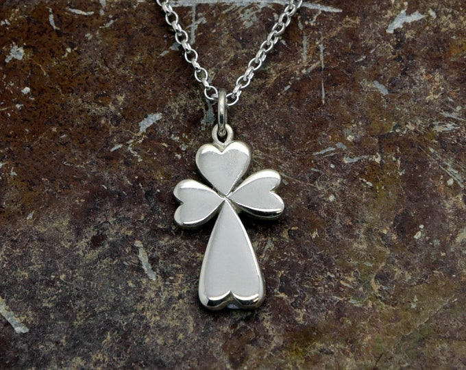 Handmade Silver Celtic Cross, Douglas Hughes Design