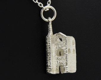 Solid Silver Handmade Cornish Tin Mine
