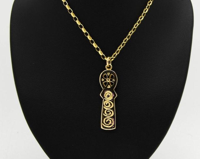 9ct Gold Handmade Celtic Cross