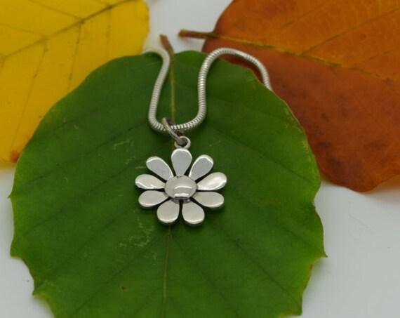 Cornish Daisy Pendant  - Handmade Douglas Hughes Design