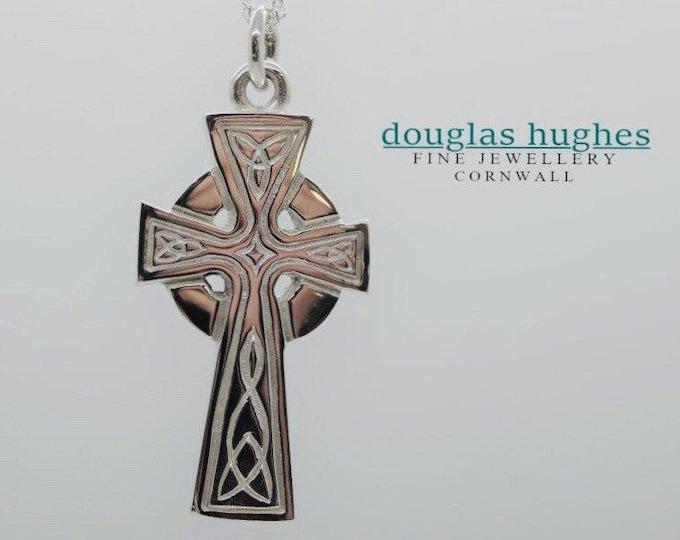 Silver Handmade Celtic Cross