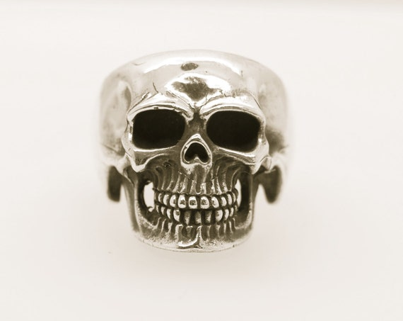 Skull Ring - Handmade Douglas Hughes Hellraiser Collection