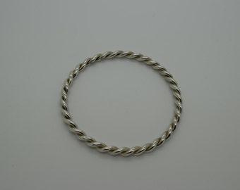 Silver Bangle - Handmade Douglas Hughes Design