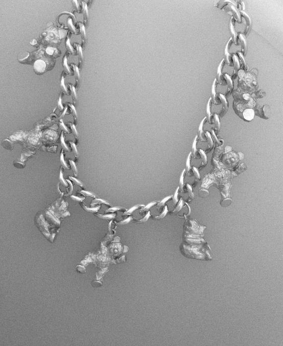 Teddy Bear Bracelet - Handmade Douglas Hughes Design