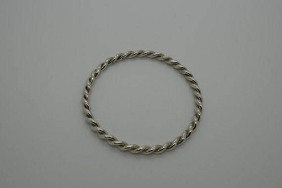 Silver Bangle - Handmade Douglas Hughes Design
