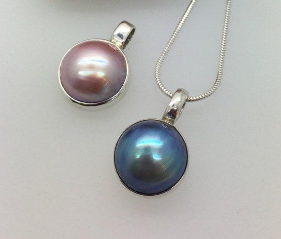 Mabé Pearl Pendants - Douglas Hughes Design