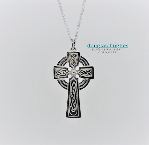 Cornish Celtic Cross - Douglas Hughes Design - Handmade in Cornwall