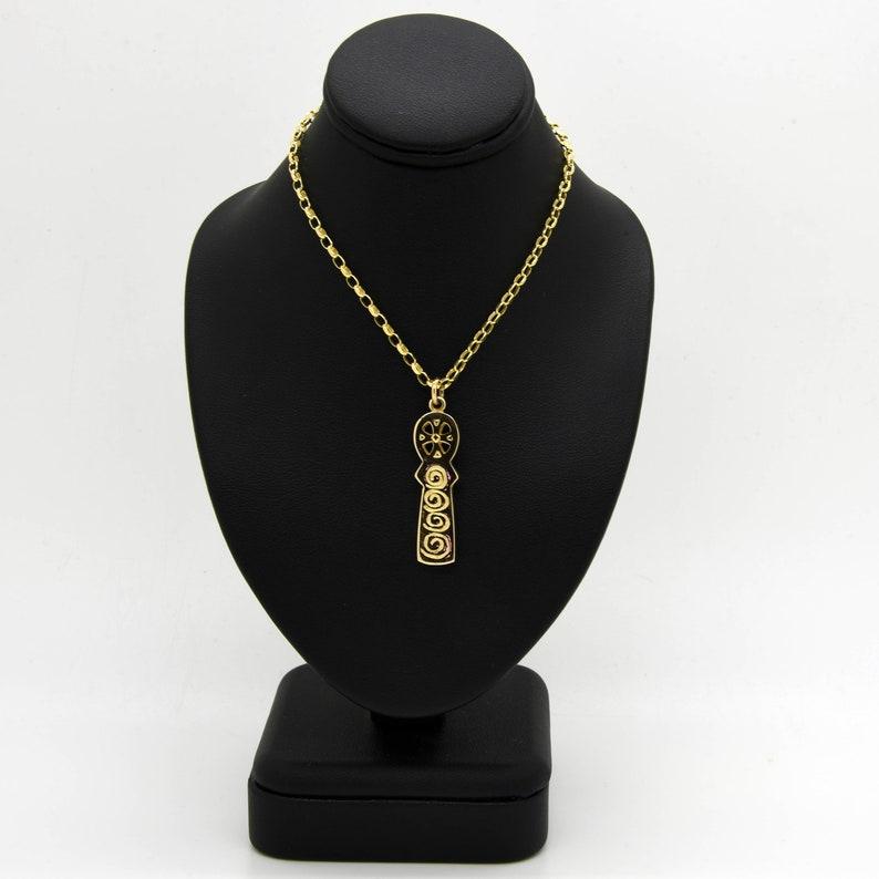 9ct Gold Handmade Celtic Cross image 0