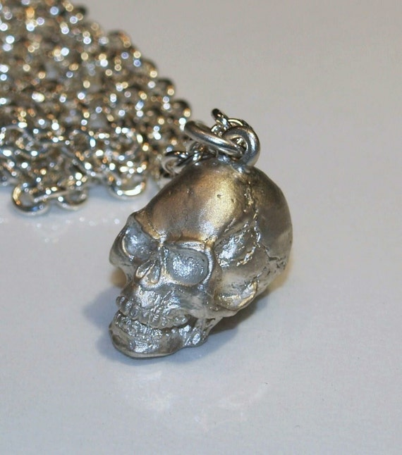 Skull Pendant -  Handmade  Douglas Hughes Hellraiser Collection