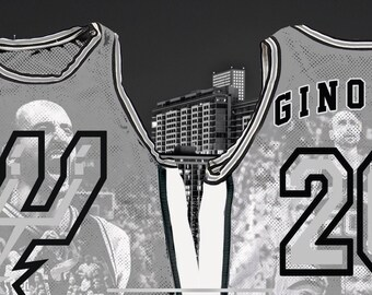 862b033fecc Spurs jersey | Etsy
