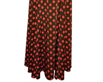 Flamenco Skirt in stretch fabric