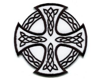 Cruz Celta Irlandés Símbolo Biker Tatuaje Retro Hierro En Etsy