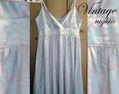 Vintage nightie, size UK8...