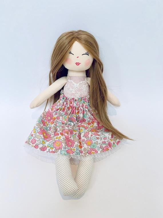 Bambola fatta a mano bambola di pezza bambola di stoffa | Etsy