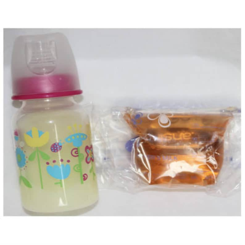 Reborn Baby Doll 4oz bags Faux Fake Formula /& Apple Juice for Bottle MOST REAL!!