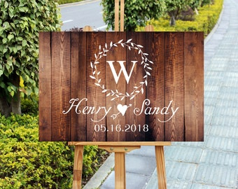 Wooden Wedding Signs.Wedding Signs Wood Etsy