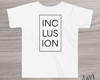 Youth Inclusion Tshirt  Youth Inclusion Tshirt Unisex modern Inclusion Shirt Inclusion Shirt Modern Design