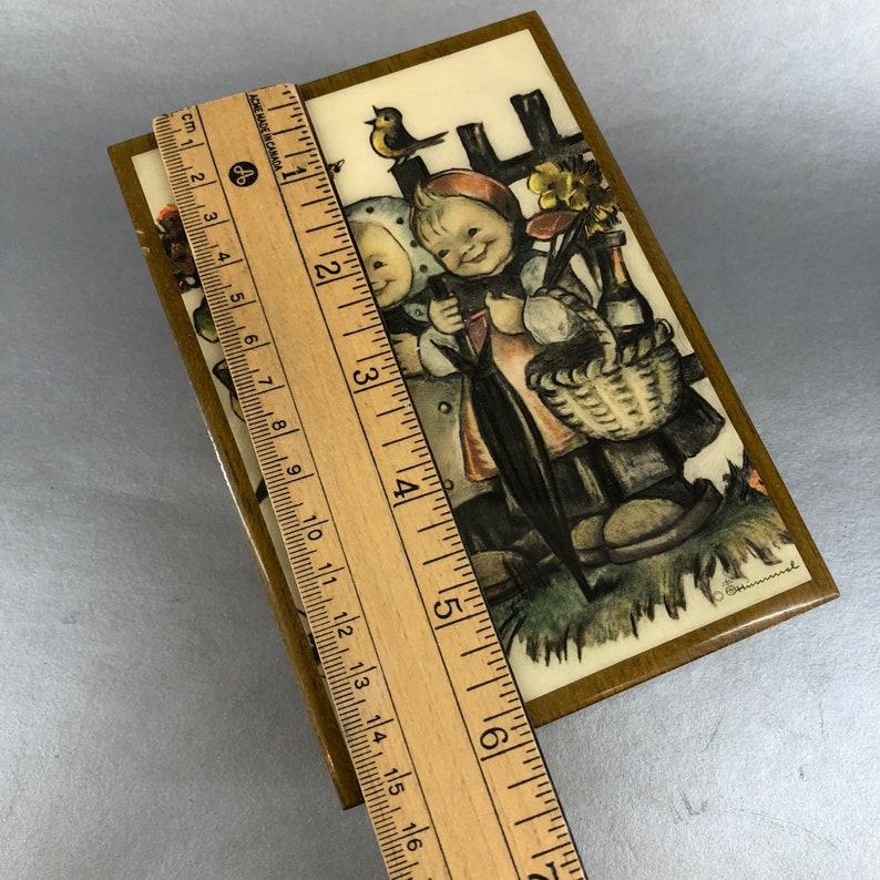Reuge Swiss Speak Softly Love Hummel Switzerland Wood Music Box Jewelry