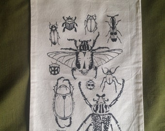 Cotton Drawstring Beetles Pouch