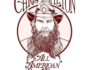 """Chris Stapleton Cover 24"""" Poster"""