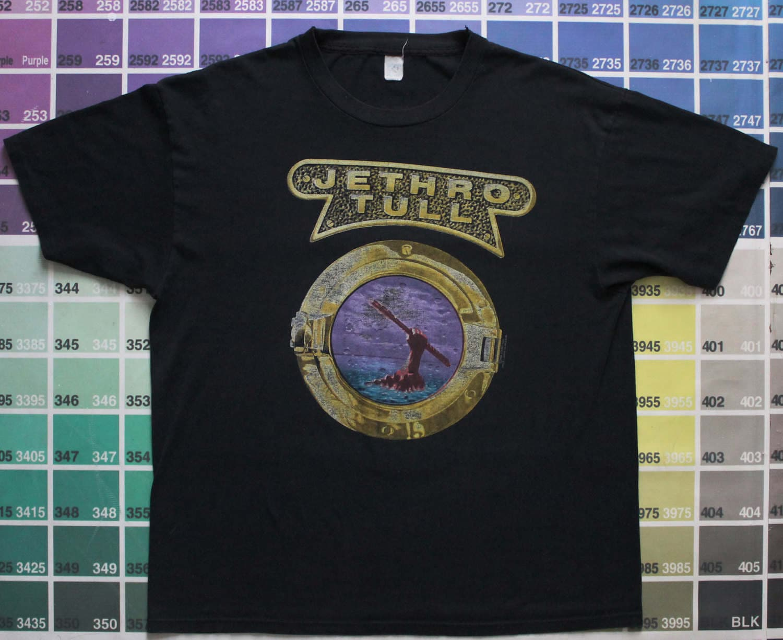 b6230bc0a63 Vintage Jethro Tull shirt Rock Island 1989 tour