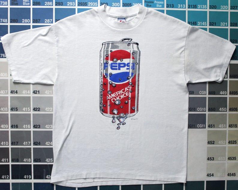 33b7fcb0207eaa Vintage Pepsi t shirt 80 s vintage t shirt awesome