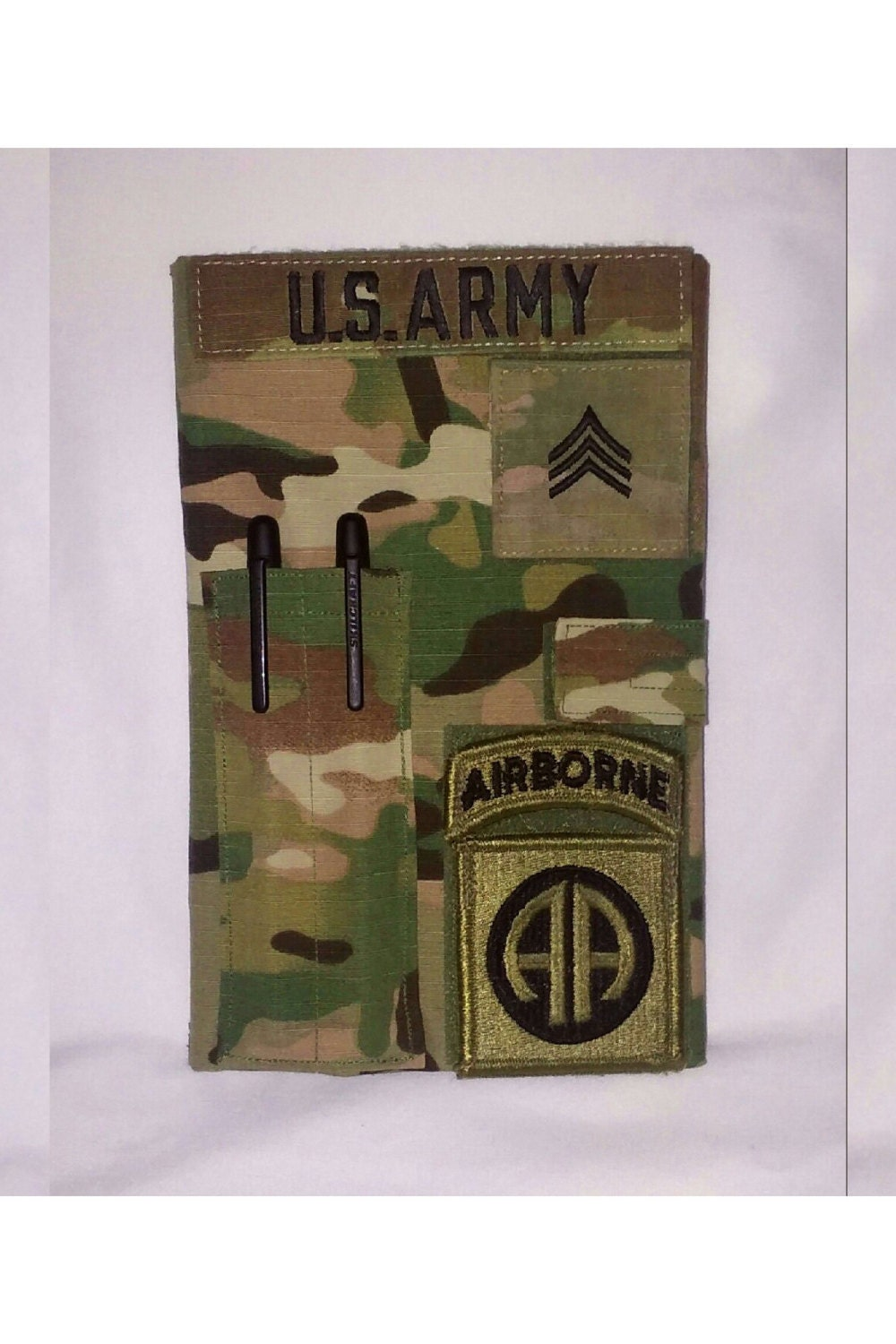 Multicam Army Book Cover Etsy