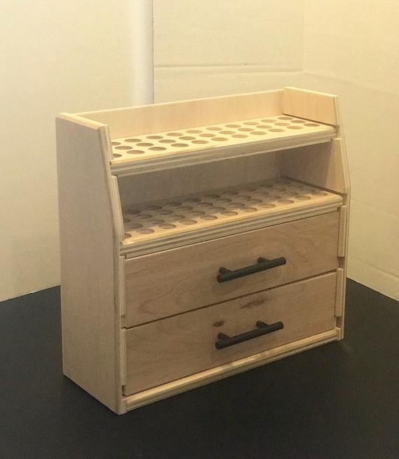 Essental oil storage// Essential oil holder// Essential oil// doubler drawer storage unit.