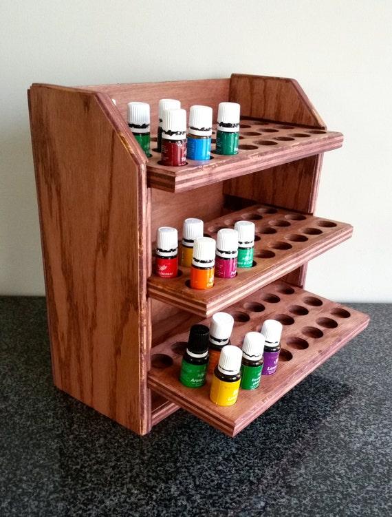 Essental oil shelf | Essential oil organizer | Essential oils shelf | Essential oil display | Essential oils holder | 72ctB