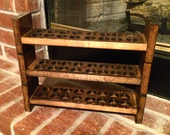 essential oil stackable storage shelf 48 ct - finished