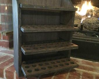Essential oil storage shelf 96 ct/finished-Olivia