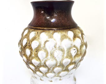West German Carstens Vintage Ceramic Vase