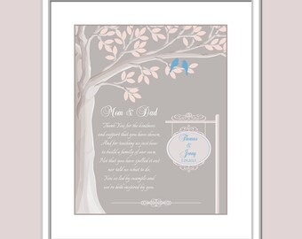 gift for parents for wedding parents thank you gift wedding day gift for mom and dad parents thank you gift parents in law gift
