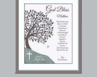 Boys Baptism Gift - Catholic Baptism Gift - Baby Dedication gift Unique Baptism Gift - Baptism Print - Baptism keepsake - christening print
