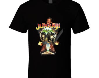 Jumanji Robin Williams Retro Adventure Movie T Shirt