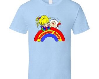 Rainbow Brite 80's Cartoon T Shirt