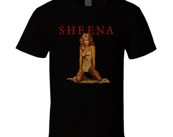 Sheena 80's Movie Retro T Shirt