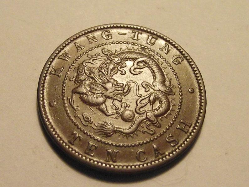 China Kwang Tung Province 10 Cash 1900-06. Empire (up To 1948)