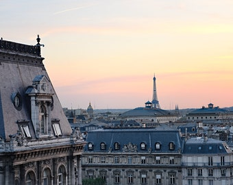 Paris Photography, Paris Bedroom Decor, Paris, Modern Large Print, Eiffel Tower, Gift for her, Paris Poster, Paris Wall Decor, Wall Art