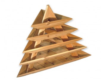 Planter - Plant Pyramid Cedar Garden 5-Level **Free Shipping US 48**