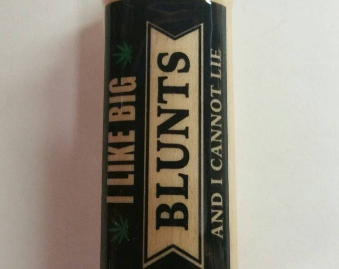 I Like Big Blunts Wood Lighter Cover Case Sleeve Holder Fits Bic Lighters