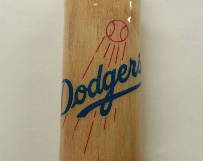 Los Angeles Dodgers Wood Lighter Case Holder Sleeve Cover Baseball MLB Fits Bic Lighters