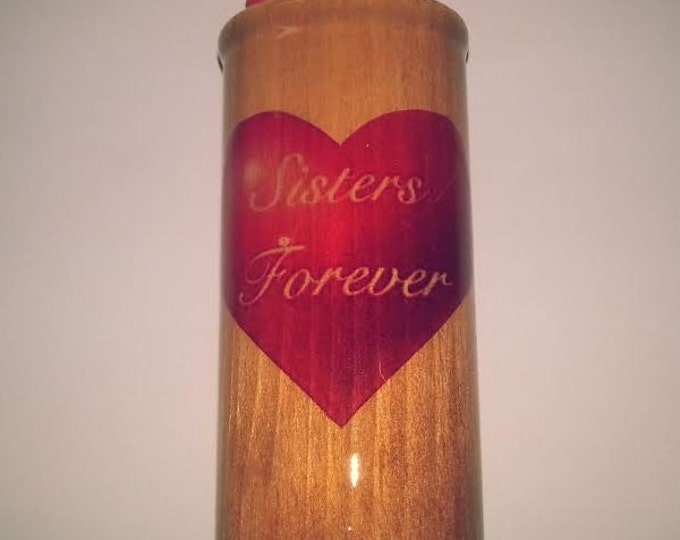 Sisters Forever Wood Lighter Case Holder Sleeve Cover Fits Bic Lighters