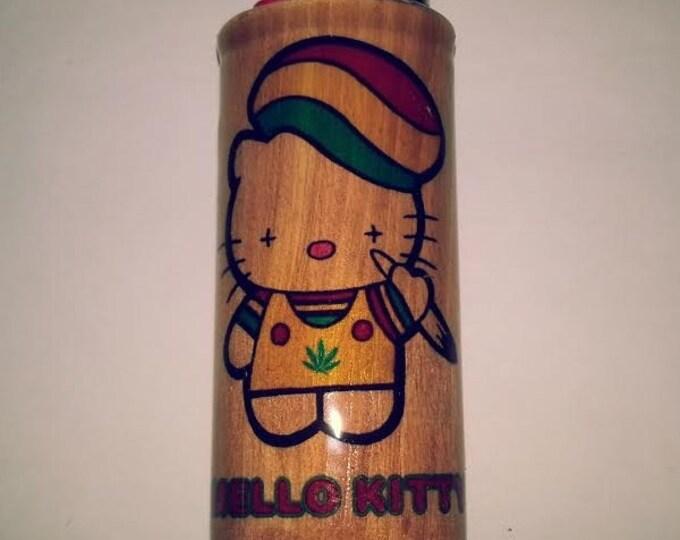 Mello Kitty Lighter Case,  Lighter Holder, Lighter Sleeve
