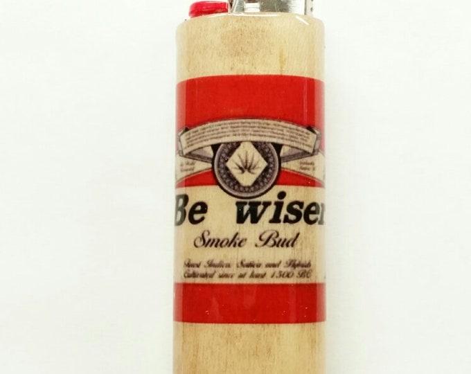 Be wiser BIC Lighter Case Holder Sleeve Cover Smoke Bud Pot Weed Marijuana Ganja