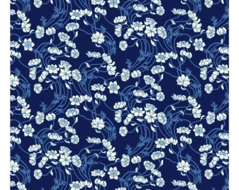 Liberty Art Fabrics  Liberty Stile Lowke Blue