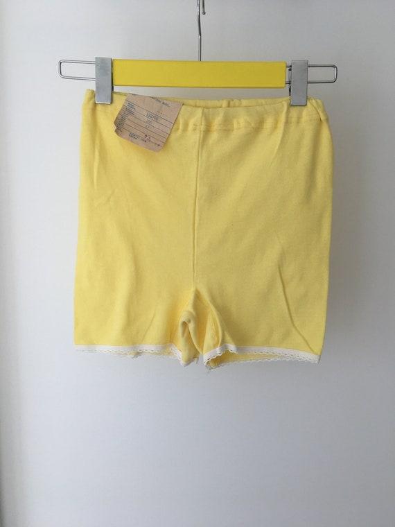 big sale 5c951 6643e NOS sowjetischen Vintage Unterwäsche Damen Baumwolle unbenutzt Höschen,  gelbe Unterhose, Russische Frauen Unterwäsche, Sammlerstück, Made in USSR  Ära ...