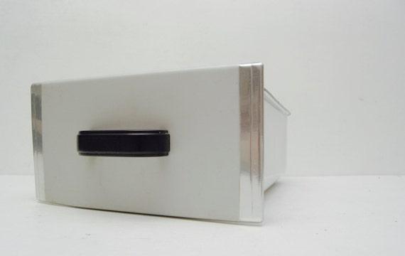 Kühlschrank Schublade : Weiße enamelware kühlschrank schublade rustikale bauernhaus